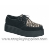 Creeper 400 Black Suede/Fur
